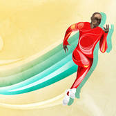 Agent Illustrateur - Athlete, Athletics, Competition, Male, Olympic Games, Race, Racing, Run, Speed, Sports